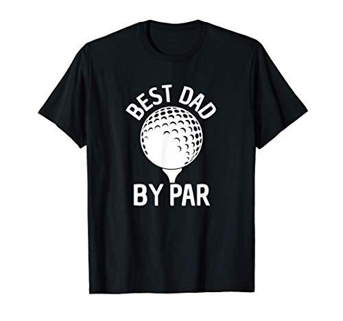 Herren Bester Vater von Par Lustiger Golfgeschenk Vater, der golft T-Shirt