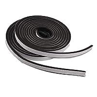 LUCKYBEE すきまソフトテープ 防音戸当たり 静音テープ 気密防水パッキン 防音 防水 防虫 緩衝材 衝突防止 (12mm*6mm*8m)