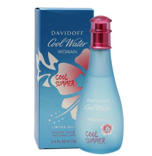 Zino Davidoff Cool Water Cool Summer By Zino Davidoff For Women Eau De Toilette Spray 3.4-Ounce / 100 Ml