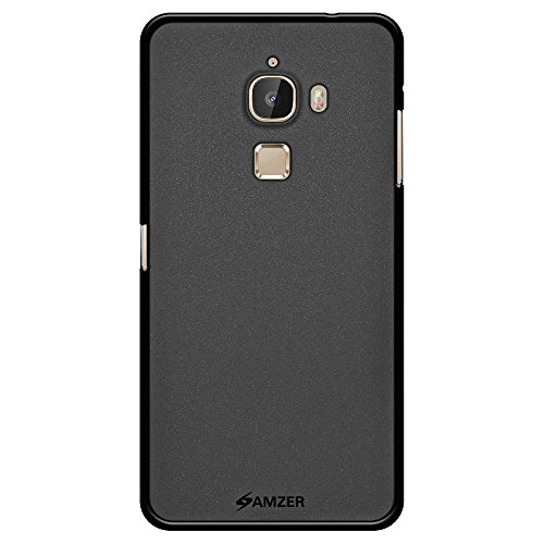 AMZER Pudding Soft Gel TPU Fit Case Cover Skin for LeEco Le Max/LeEco Le Max Pro - Retail Packaging - Black