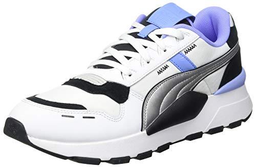 PUMA RS 2.0 Futura, Zapatillas Unisex Adulto, Negro Elektro Púrpura Plata, 38.5 EU