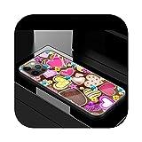 Coque pour iPhone 12 Mini 11 Pro 7 XR X XS Max 8 6S 6 Plus SE 2020 Cubre Phone Casos Coque Bag Cute...