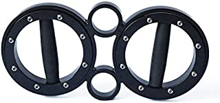 FIITY 8/12 Pounds Multifunctional Hand and Forearm Trainer - Spinning Burn Muscle Training - 360 Degree Rotating Grips