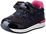Geox B RISHON Girl A, First Walker Shoe Niñas, (Navy), 24 EU