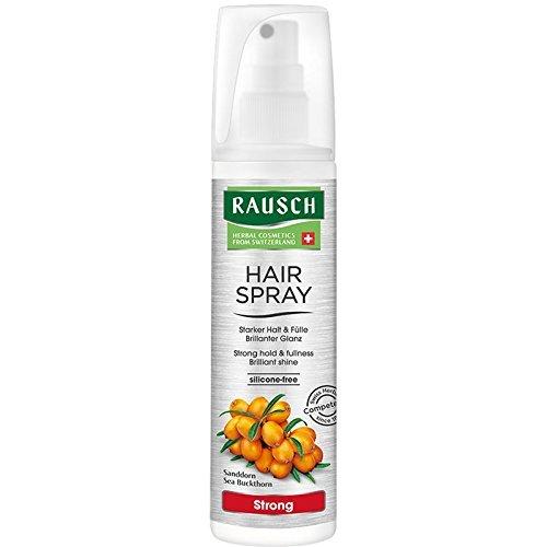 Rausch Hairspray Strong Non-Aerosol (für dauerhaften, starken Halt und strahlenden Glanz - Vegan), 1er Pack (1 x 150 ml)