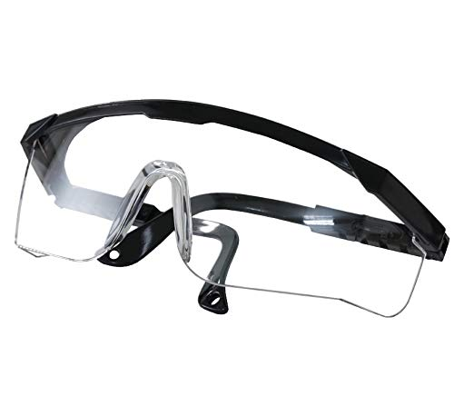 QUDICQ Industrial Anti-Fog Safety Glasses Approved Wide-Vision Lab Glasses ANSI Z87.1 Approved Glasses