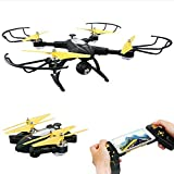 TOYEN GV1804 FPV WiFi RC Quadcopter Remote Control Drone Quadcopter One Key Return Helicopter with HD 2MPP Camera RC Drone Indoor/Outdoor Toy