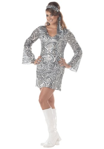 California Costumes Disco Diva Size Plus Costume, 1XL, 3XL