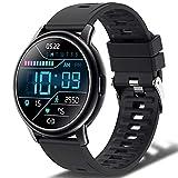 Smartwatch Hombre Mujer, Reloj Inteligente con 24 Modos Deportivos, IP68 Impermeable,...