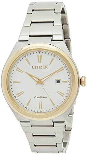 Citizen Analog White Dial Men's Watch-AW1374-51B