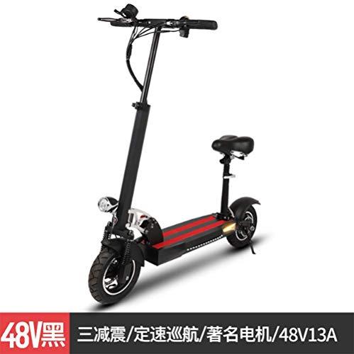 SHIJING Plegable Bicicleta eléctrica de la batería Scooter