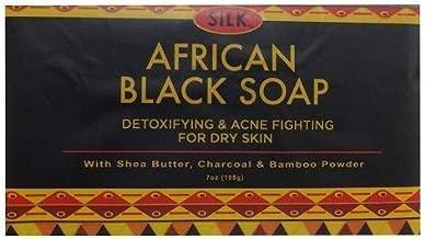 silk black soap