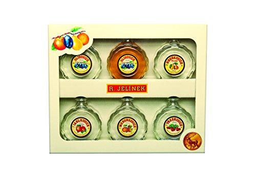 R.Jelinek, Original Czech destilleries, Box mit 6 Miniaturflaschen 6 x 0.05 l, 43%