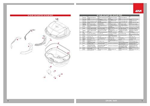 PIASTRINA Sotto SERRATURA B33 GIVI Z3006R