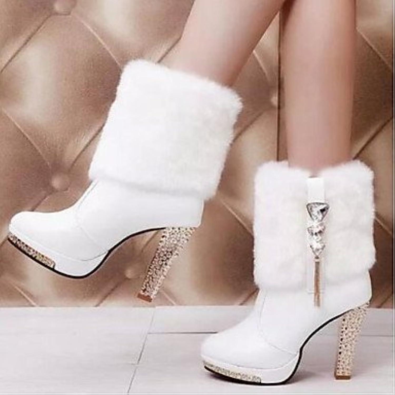 Wuyulunbi@ Women'S shoes Fall Casual Black White Comfortable Boots