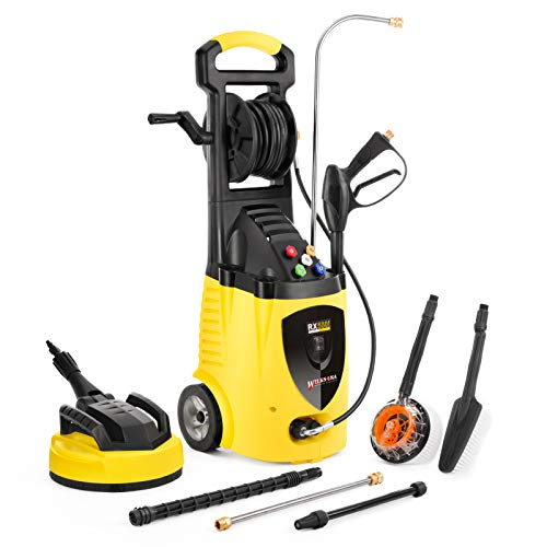 Wilks-USA RX550i Highest Powered Electric Pressure Washer - Massive 262 Bar