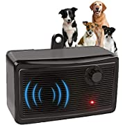 Anti Barking Device, 2-in-1 Bark Control Device and Dog Training, Ultrasonic Dog Barking Deterrent, Waterproof Bark Box, Outdoor Sonic Bark Deterrent