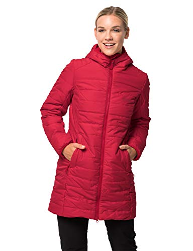 Jack Wolfskin Damen Maryland Coat Mantel, Ruby red, S