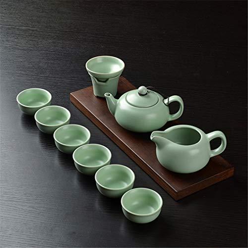 LBMY Juego de té Horno Taza de té Regalo de cerámica Juego de té Caja de Regalo Juego de té Creativo Té de cerámica Juego de té Kungfu