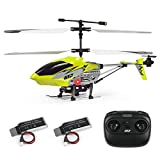 Cheerwing U12 Mini RC Helicopter with Altitude Hold, One Key take Off/Landing Remote Control Helicopter for Kids and Adults (Yellow)