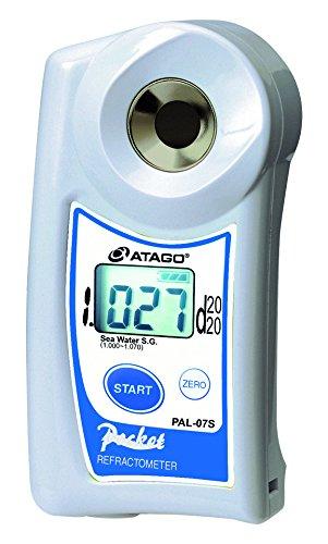 アタゴ ポケット糖度・濃度計 海水比重 /2-8655-01