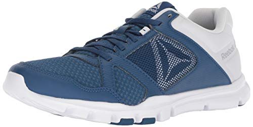 Reebok Herren Yourflex Train 10, Bunker Blue/Spirit White, 39.5 EU