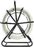 FCPLLTR Cable de alambre de fibra de vidrio, 4,5 mm 100m cinta de peces cable de alambre de fibra de vidrio conducto Rodder Fishtape Guía de Puller Guía Places de cable de rodadura Accesorios de cable