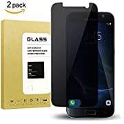 For Galaxy S9 Plus Privacy Anti Spy Screen Protector, Boogak 9H Hardness, Anti-Scratch, Anti-Fingerprint, Easy Install Tempered Glass Screen for Samsung Galaxy S8 Plus Black ...