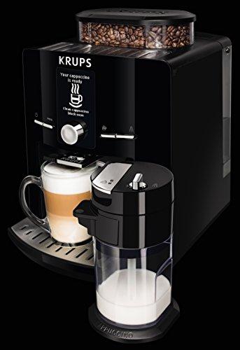 Kaffeevarianten mit Milch sind für die Krups EA8298 kein Problem