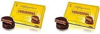 Alfajores Havanna of Chocolate with dulce de leche x6 / 2 PACKS
