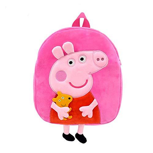 Peppa Wutz Rucksack Kinderrucksack mit Motiv Peppa George Schorsch (Peppa Rosa)