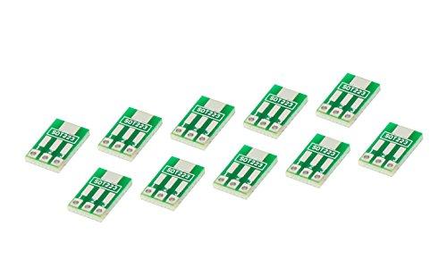 MissBirdler SOT 89 oder DIP SOT 223 zu DIP PCB Board Pitch 2,54mm Pin für zum Beispiel AMS1117
