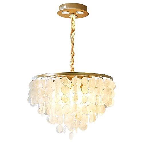 YUNZHI Lámpara Moderna Blanca Pantalla Altura Ajustable Dormitorio de la lámpara Decorativa de la Sala (Tamaño: 30 cm de diámetro), Color: 40 cm de diámetro (Color : 30cm in Diameter)