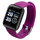 RNICE Smartwatch, 116 Plus Farbbildschirm, Smartwatch mit Herzfrequenz- & Blutdruck, wasserdicht, Fitness-Tracking-Uhr
