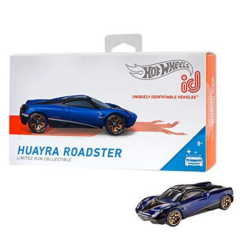 Hot Wheels iD FXB17 - Die-Cast Fahrzeug 1:64 Pagani Huayra mit NFC-Chip zum Scannen in der Hot Wheels iD App, Auto Spielzeug ab 8 Jahren