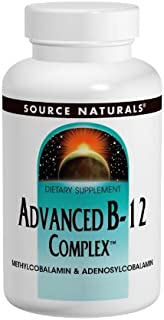 Source Naturals Advanced B-12 Complex, 30 Tablets