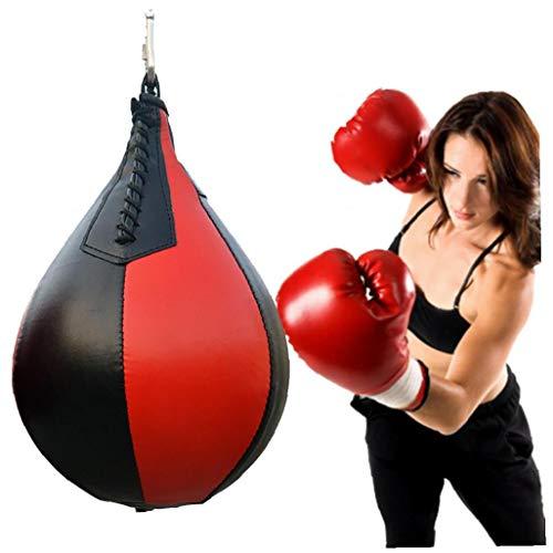Colgando del Cuero de la PU Boxeo Bola en Forma de Pera...