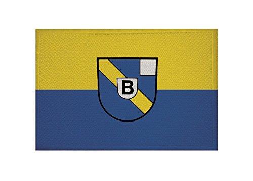 U24 Aufnäher Bühlertal Flagge Aufbügler Patch 9 x 6 cm