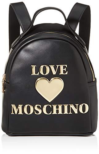 Love Moschino PU, Borsa da Donna, Nero, Normale