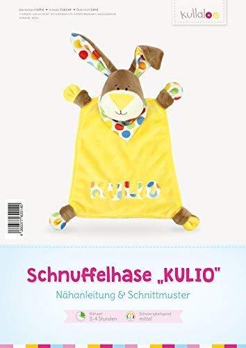 kullaloo - Schnittmuster & Nähanleitung für Schnuffelhase (Deutsch)