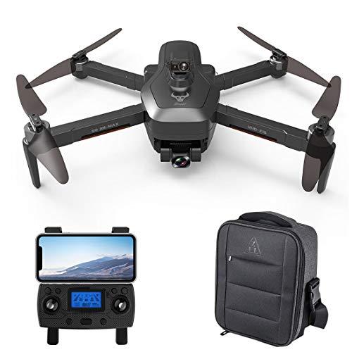 WEERUN Faltbare GPS Drohne mit 4K Kamera HD Fotografie, SG906 MAX 5GWIFI 4K 2.4G RC-Drohne mit MV-Funktion, Dreiachsiges Anti-Shake-Gimbal-GPS-Follow-Finger-Gesten-Drohne mit Aufbewahrungstasche