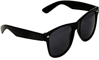 Banter Men's and Women's UV Protected Wayfarer Sunglass (Banter_sunglasses4_way_black|53|Black)