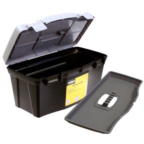 Rolson 68935 - Caja de herramientas de plástico (50 cm, inc