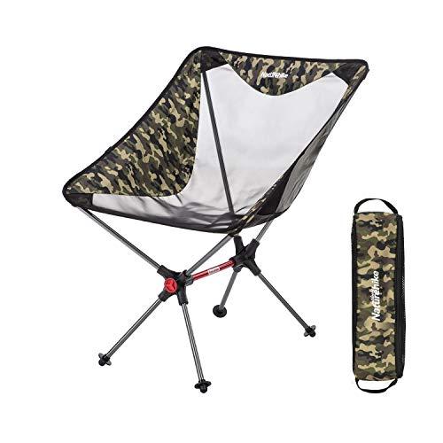 Naturehike ネイチャーハイク アウトドアチェア 超軽量 キャンプ椅子 折りたたみ コンパクト イス お釣り ピクニック ハイキング 登山 ビーチ バーベキュー 収納バッグ付 耐荷重120kg