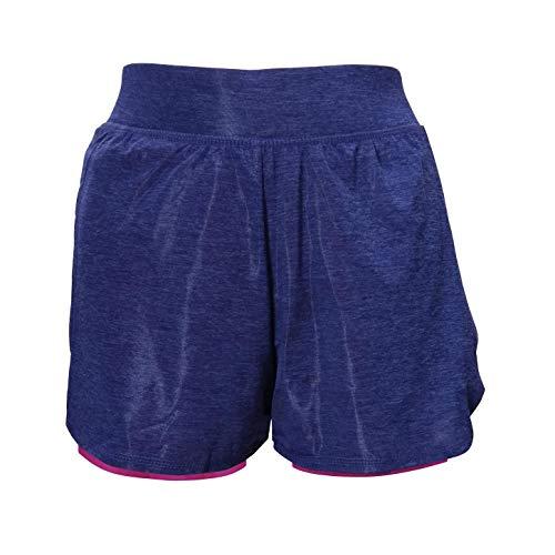 Tchibo TCM Damen Sportshorts mit integrierter Tight Kurze Hose Shorts Yogahose (32/34 XS)