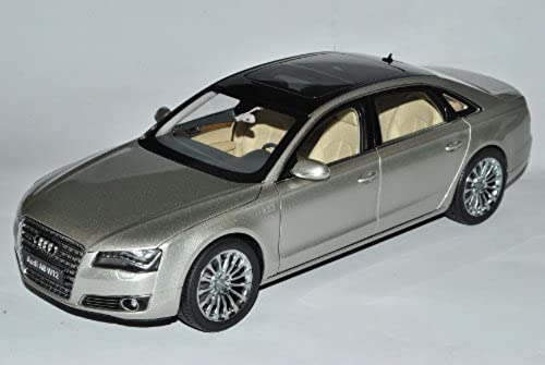 Audi A8 L W12 D4 Curvee Silber Ab 2009 1 18 Kyosho Modell Auto