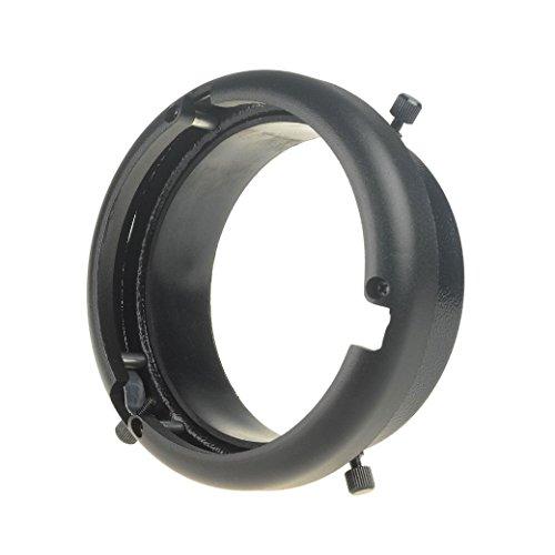 DSLRKIT 95mm Mount to Bowens Mounts Ring Studio Adapter Flash Strobe 160W 250W 300W