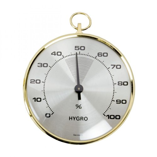 TFA Hygrometer with brass bezel
