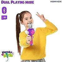 Karaoke Microfono Cambia Voce per Bambini, Senza Fili Microfono Registrazione Ricaricabile Strumenti Musicali per bambina, Compleanno Giochi da Tavolo, Regalo Bimba 3 4 5 6 Anni Gioco Educativi #3