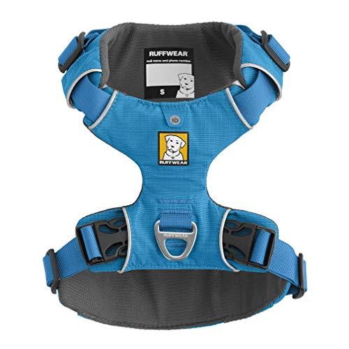 Ruffwear Ganztags-Hundegeschirr, Miniatur Hunderassen, Größenverstellbar, Größe: XXS, Blau, Front Range Geschirr, 30501-407S2